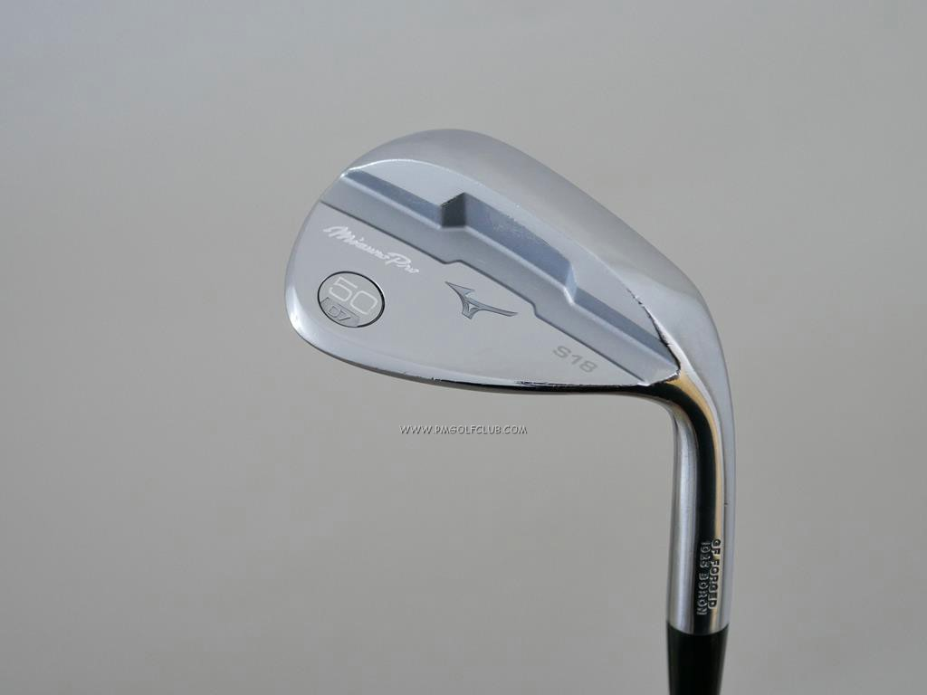 Wedge : Other : Wedge Mizuno S18 Forged (รุ่นใหม่) Loft 50 ก้านเหล็ก Dynamic Gold 105 S200