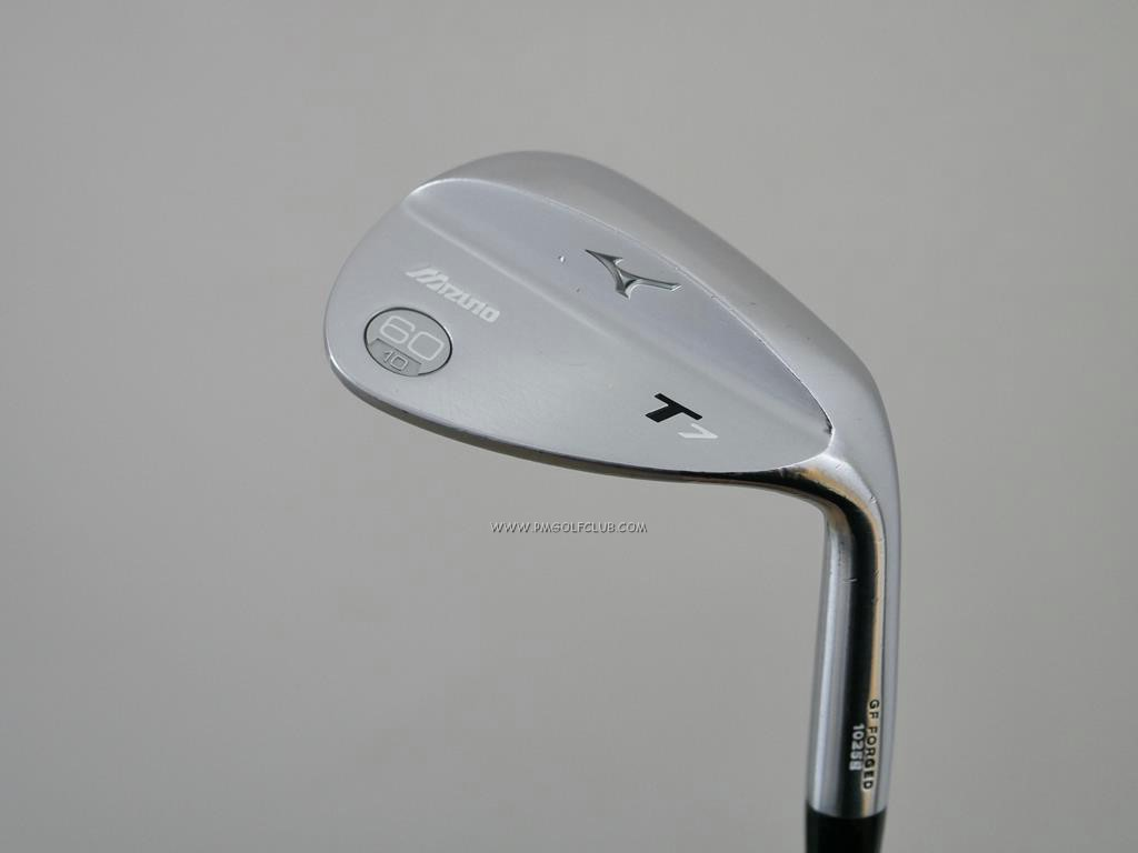 Wedge : Other : Wedge Mizuno T7 Forged Loft 60 ก้านเหล็ก Dynamic Gold S200