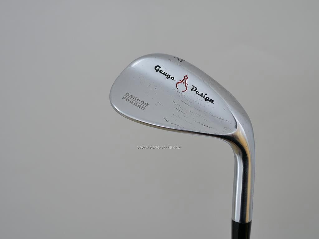 Wedge : GaugeDesign : Wedge Gauge Design GAS I Forged Loft 58 ก้าน Dynamic Gold S-200