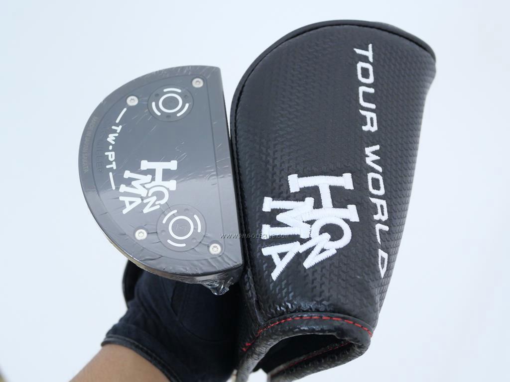 Putter : All : **ของใหม่ ยังไม่แกะพลาสติก** พัตเตอร์ Honma Tour World TW-PT CNC Milled (รุ่นล่าสุด) ยาว 34 นิ้ว