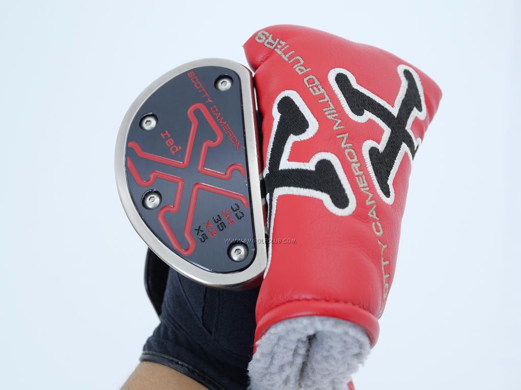 Putter : All : พัตเตอร์ Scotty Camaron Red X3 (Mallet) ยาว 34 นิ้ว