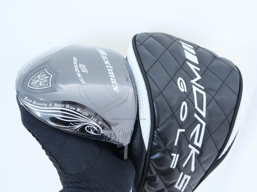 Head only : All : **ของใหม่ ยังไม่แกะพลาสติก** หัวไดรเวอร์ Works Golf Elegant Maximax (รุ่นล่าสุด หน้าเด้งเกินกฏ หัว 480cc.) Loft 10.5