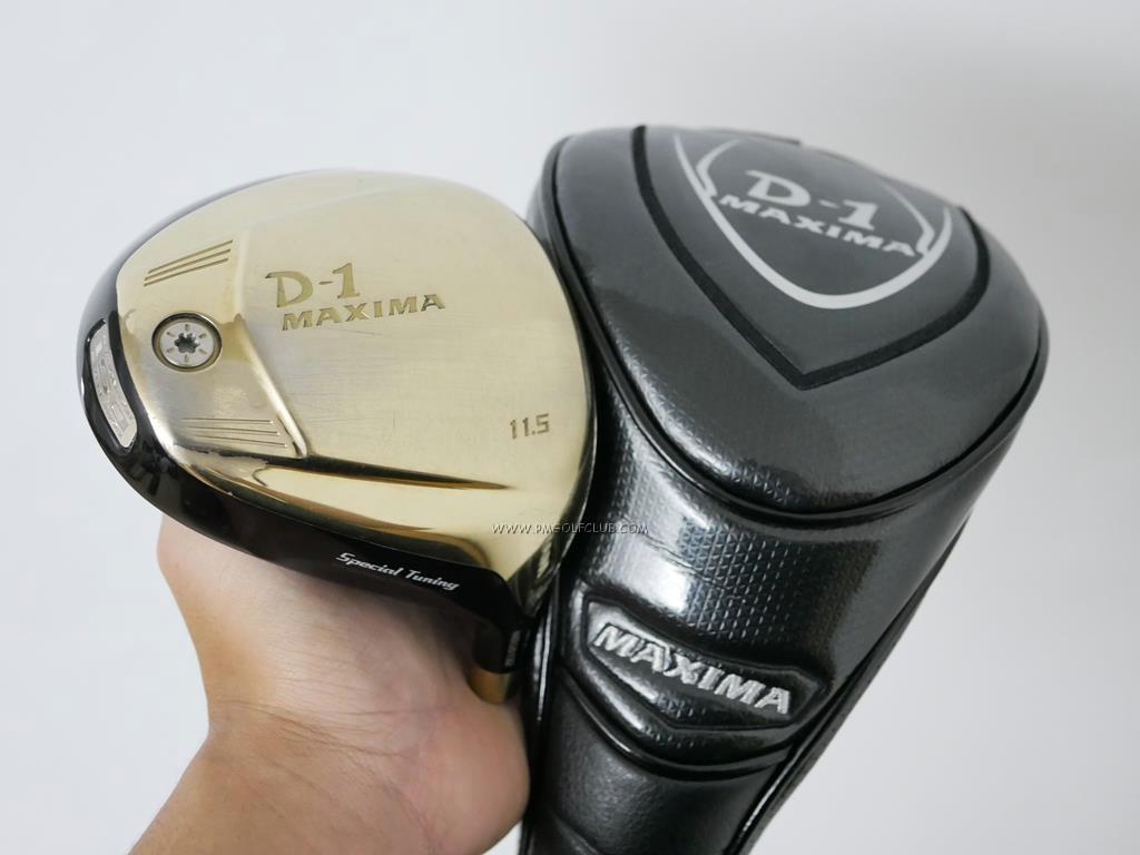 Head only : All : หัวไดรเวอร์ Ryoma D-1 Maxima Special Tunning (รุ่นปี 2015 หน้าเด้งเกินกฏ) Loft 11.5