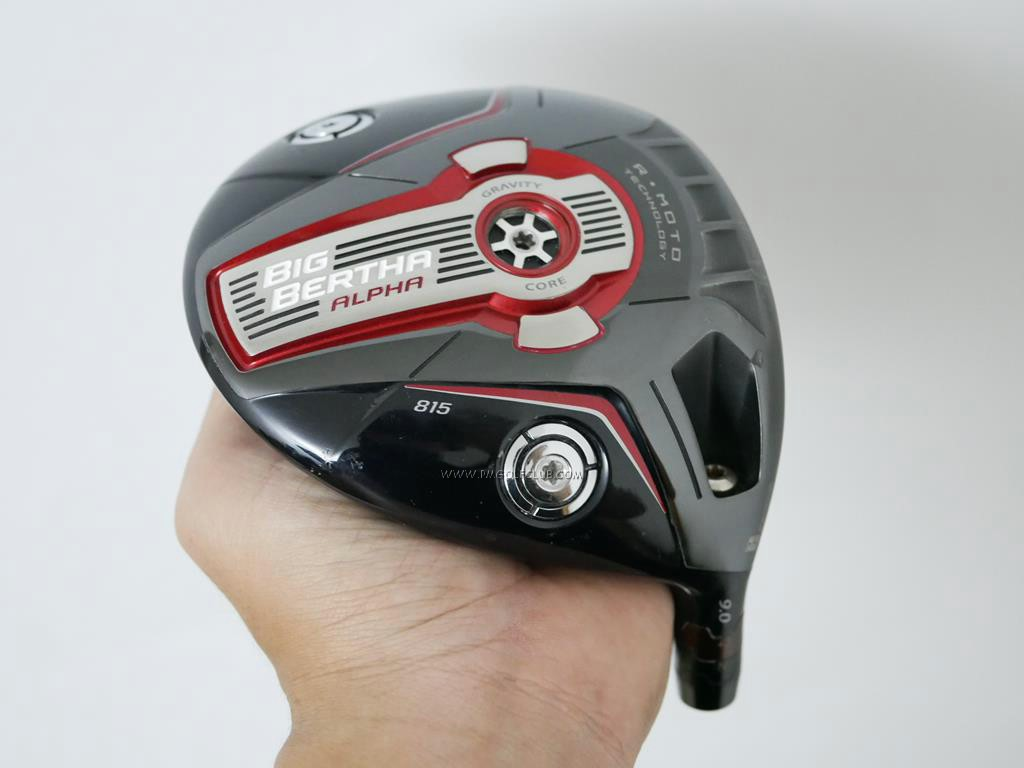 Head only : All : หัวไดรเวอร์ Callaway Big Bertha Alpha 815 Loft 9