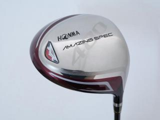 driver : Honma Amazing Spec 480 (รุ่นใหม่ หน้าเด้งเกินกฏ หัวขนาด 480cc.) Loft 11.5 ก้าน Amazing Spec Feather & Feather Flex R