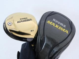 driver : ไดรเวอร์ Ryoma Maxima Special Tunning (ตัวใหม่ล่าสุด ปี 2018 หน้าเด้งเกินกฏ) Loft 10.5 ก้าน Tour AD M2-G Flex R2