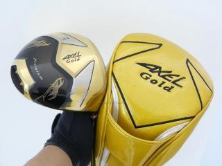 driver : Tsuruya AXEL Gold Premium (460cc. ตัวท๊อป หน้าเด้ง Non-Conform ของใหม่ 4 หมื่น) Loft 10.5 Flex R