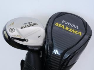 driver : ไดรเวอร์ Ryoma Maxima Special Tunning (ตัวใหม่ล่าสุด ปี 2018 หน้าเด้งเกินกฏ) Loft 11.5 ก้านตัวท็อป RYOMA BEYOND POWER FLEX ∞