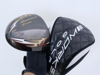 driver : Works Golf Maximax Premia MAX 1.7 (หน้าเด้งสุดๆ บางเพียง 1.7 มิล) Loft 10.5 Flex R