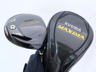 driver : ไดรเวอร์ Ryoma Maxima Special Tunning (ตัวใหม่ล่าสุด ปี 2018 หน้าเด้งเกินกฏ) Loft 10.5 ก้านตัวท็อป RYOMA BEYOND POWER FLEX ∞