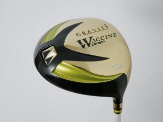 driver : ไดรเวอร์  Gravity Waccine Compo (ไดรเวอร์ Hi-end ตัวใหม่ 455cc.) Loft 10.5 ก้าน Graman 60 Flex R