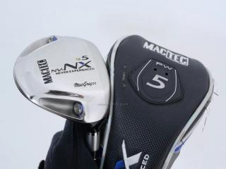 fairway_wood : หัวไม้ 5 Macgregor Mactec NV-NX (หน้า Maraging Japan Spec) Loft 18 Flex S