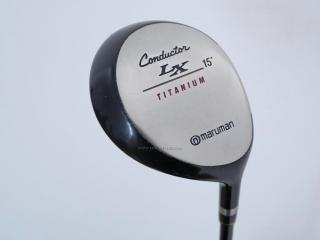 Fairway Wood : Maruman : หัวไม้ 3 Maruman Conductor LX Loft 15 Flex SR
