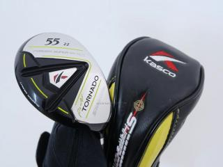 fairway_wood : ไม้กระเทย Kasco Power Tornado SharpShooter 55 (ปี 2018) Loft 22 Flex R