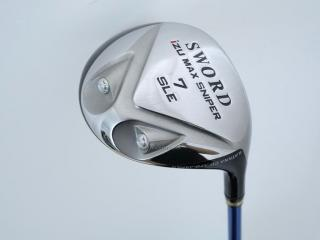 fairway_wood : หัวไม้ 7 Katana Sword IZU Max Sniper SLE Loft 21 ก้าน Sword Tour AD Flex R2