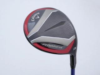 fairway_wood : หัวไม้ 3 Callaway FT Optiforce Loft 15 ก้าน Mitsubishi Diamana S62 Flex R