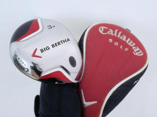 fairway_wood : หัวไม้ 3 Callaway Big Bertha Loft 15 Flex S