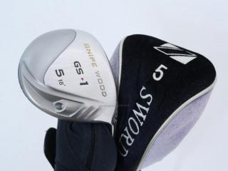 fairway_wood : หัวไม้ 5 Katana Snipe Wood GS-1 Loft 18 Flex R