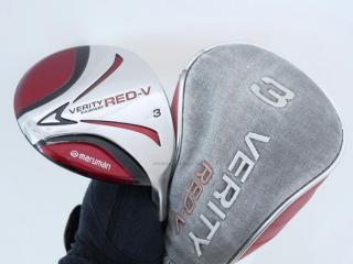 fairway_wood : หัวไม้ 3 Maruman VERITY Red-V Loft 16 Flex S