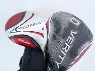 fairway_wood : หัวไม้ 5 Maruman VERITY Red-V Loft 19 Flex S
