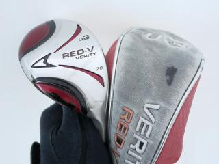 fairway_wood : ไม้กระเทย Maruman Verity RED-V Loft 20 Flex S