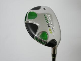 Fairway Wood : ไม้กระเทย Nickent 4DX UT Loft 19 Flex R