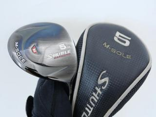 fairway_wood : หัวไม้ 5 Maruman Shuttle M-Sole Loft 18 Flex SR