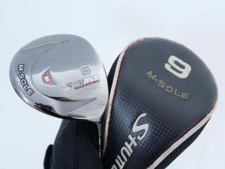 fairway_wood : หัวไม้ 9 Maruman Shuttle M-Sole Loft 24 Flex R