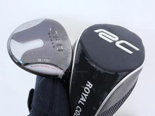 fairway_wood : หัวไม้ 3 Royal Collection SFD Black Loft 15 ก้าน FUBUKI MF-60 Flex S