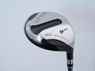 fairway_wood : หัวไม้ 9 RC (Royal Collection) SFD III Loft 22 ก้าน Motore RC5 Flex R