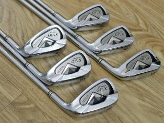 iron_set : ชุดเหล็ก XXIO Forged 4 มีเหล็ก 5-Pw (6 ชิ้น) ก้านเหล็ก NS Pro 950 Flex S