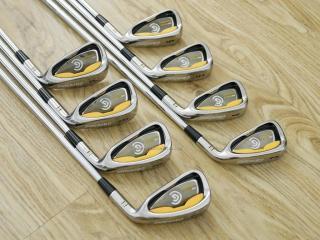 iron_set : ชุดเหล็ก Cleveland CG Gold มีเหล็ก 3-Pw (8 ชิ้น) ก้านเหล็ก NS Pro 950 Flex R