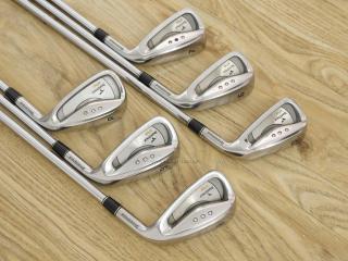 iron_set : ชุดเหล็ก Tourstage VIQ (Titanium) มีเหล็ก 5-Pw (6 ชิ้น) ก้านเหล็ก NS Pro 900 Flex R