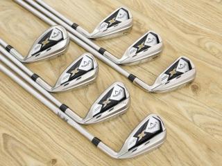 iron_set : ชุดเหล็ก Callaway X Hot มีเหล็ก 5-Pw,Sw (7 ชิ้น) ก้านกราไฟต์ 60 Flex R