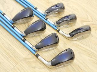 iron_set : ชุดเหล็กกระเทย Katana Sword SL-Eleven มีเหล็ก 7-12,Sw (7 ชิ้น เทียบเท่า 6-Pw,Aw,Sw) ก้านกราไฟต์ Flex R