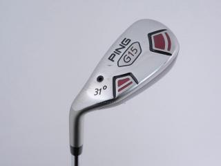 left_handed : ไม้กระเทย Ping G15 Loft 31 ก้านเหล็ก Ping AWT Flex S