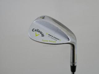 wedge : Wedge Callaway Mack Daddy 2 Forged Loft 58 ก้านเหล็ก Dynamic Gold Wedge