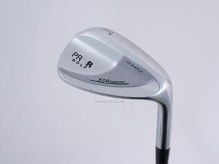 wedge : Wedge PRGR 500 Type 02 Loft 57 ก้านเหล็ก Flex S