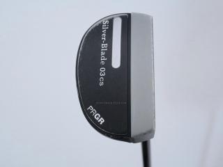 putter : พัตเตอร์ PRGR Silver-Blade 03cs (Mallet) ยาว 34 นิ้ว