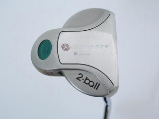 Putter : พัตเตอร์ Odyssey White Steel 2-ball ยาว 34 นิ้ว