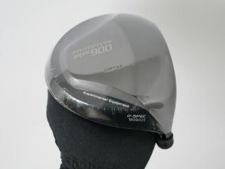 head_only : **ของใหม่ ยังไม่แกะพลาสติก** หัวไดรเวอร์ Geotech Prototype RF900 A-Spec (หัวโตมาก 530cc. หน้าเด้งเกินกฏ) Loft 9.5