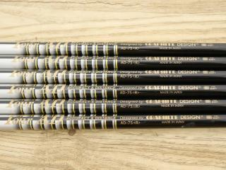 shaft : ก้านชุดเหล็ก Tour AD 75 Flex R ใส่ 5-Pw (6 ชิ้น)