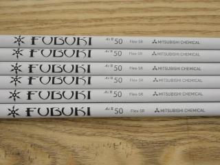 shaft : ก้านชุดเหล็ก Mitsubishi FUBUKI AI II 50 (รุ่นใหม่) Flex SR ใส่เหล็ก 5-Pw (6 ชิ้น)