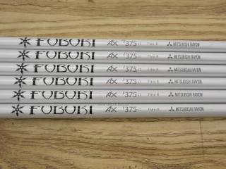 shaft : ก้านชุดเหล็ก Mitsubishi FUBUKI AX i375 Flex R ใส่เหล็ก 5-Pw (6 ชิ้น)