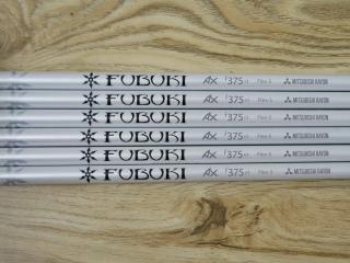 shaft : ก้านชุดเหล็ก Mitsubishi FUBUKI AX i375 Flex S ใส่เหล็ก 5-Pw (6 ชิ้น)
