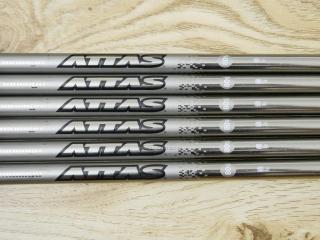 shaft : ก้านชุดเหล็ก UST Mamiya ATTAS 80 Flex S ใส่ 5-Pw (6 ชิ้น)