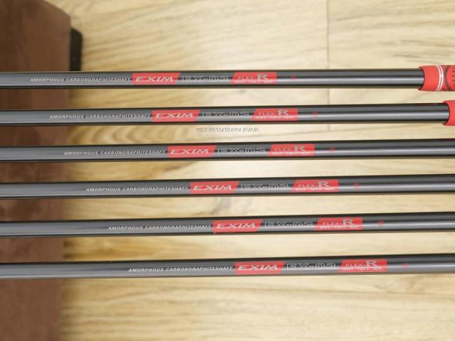 Iron set : Maruman : ชุดเหล็ก Maruman EXIM Nano II มีเหล็ก 5-Pw (6 ชิ้น) ก้านกราไฟต์ Flex R