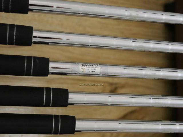 Iron set : XXIO : ชุดเหล็ก XXIO Cross (รุ่นล่าสุดปี 2019 ตีไกลที่สุดของที่สุดจาก XXIO หน้าเด้งสุดๆ) มีเหล็ก 6-Pw,Aw (6 ชิ้น ตีไกลกว่าปกติ 2 เบอร์) ก้านเหล็ก NS Pro 870 DST Flex S