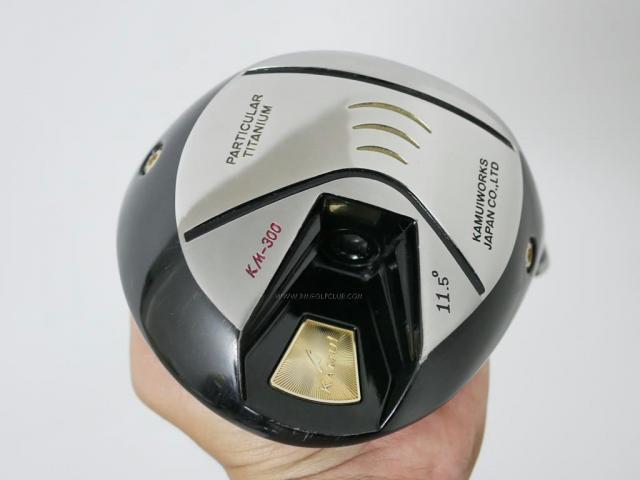 Head only : All : หัวไดรเวอร์ Kamuiworks KM-300 Gold (รุ่นใหม่ล่าสุด หน้าเด้งเกินกฏ มีสปริงข้างใน) Loft 11.5