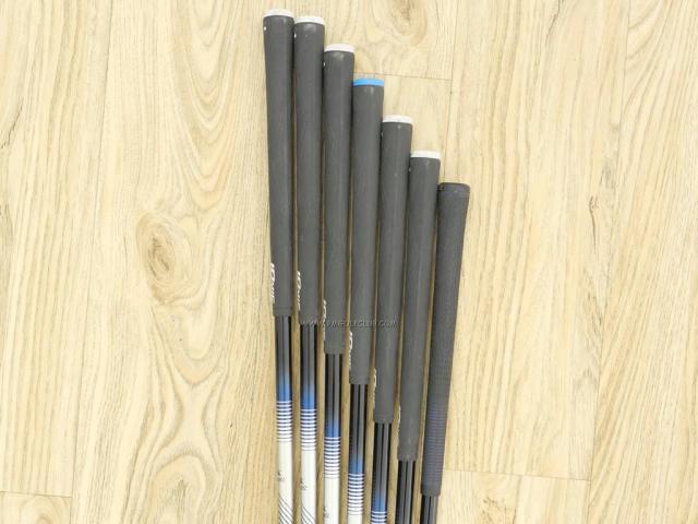 Iron set : Tsuruya : ชุดเหล็ก Tsuruya AXEL GX HM (หน้าเด้ง ตีไกลมาก) มีเหล็ก 5-Pw,Sw (7 ชิ้น) ก้านกราไฟต์ FLex S